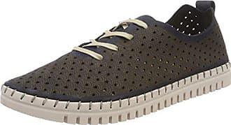 23602, Zapatillas para Mujer, Azul (Blue Ethno), 38 EU Tamaris