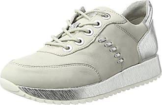 Tamaris 23603, Zapatillas para Mujer, Gris (Cloud Metallic), 36 EU