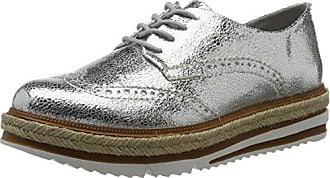 23709, Sneakers Basses Femme, Argent (Silver Crack), 41 EUTamaris