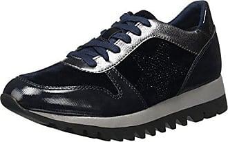 Tamaris 23601, Zapatillas Para Mujer, Azul (Navy Comb), 38 EU
