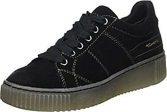 23713, Sneakers Basses Femme, Noir (Black Metallic), 42 EUTamaris