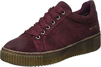 23629, Sneakers Basses Femme, Rouge (Red Nubuc 570), 40 EUTamaris