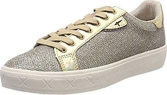 Tamaris 23625, Zapatillas para Mujer, Gris (Silv. Glam Com), 39 EU