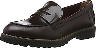 Womens 24223 Loafers, Black (Black Leather), 8 UK Tamaris