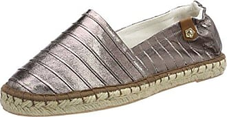 Tamaris Damen 24610 Espadrilles, Silber (Silver Struct.), 40 EU