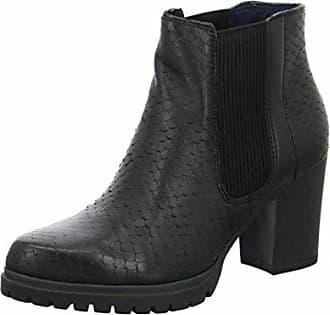 b5dcd7cdd5e5 25421 Damen Chelsea Boots Schwarz Black 001 36 EU 35 Damen UK ...