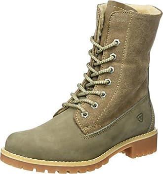 SHOWHOW Damen Gefüttert Schneestiefel Cowboys Worker Boots Gelb 41 EU