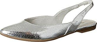 Tamaris 27525, Mules Para Mujer, Plateado (Silver), 36 EU