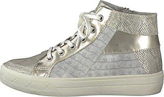 TAMARIS Damen Plateau High-Top Sneaker Schwarz, Schuhgröße:EUR 38