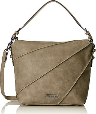 CARLA Hobo Bag Damen 2263172-367 elegante Umhängetasche in Graphite Comb Tamaris