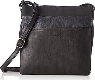 Damen Jimmy Handbag Henkeltaschen, Schwarz (Black Comb 098), 38x24x10 cm Tamaris