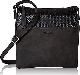 Damen Milla Crossbody Bag L Umhängetasche, Grau (Light Grey), 9x28x30 cm Tamaris