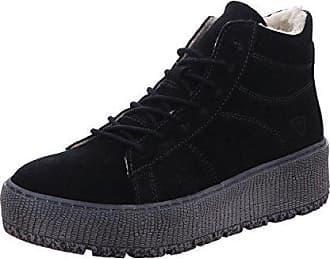 Tamaris Damen Plateau High-Top Sneaker Schwarz, Schuhgröße:EUR 39