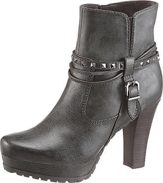 Tamaris Stiefelette, mit schöner Nietendeko, schwarz, EURO-Größen, schwarz