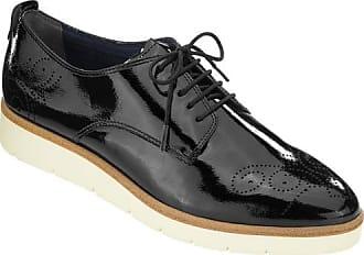 24733 - Chaussures À Lacets Pour Les Dames / Tamaris Bleu