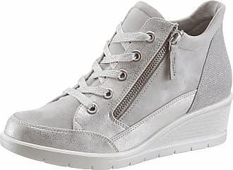 Tamaris Sneaker, im modischen Metallic-Look, blau, EURO-Größen, hellblau
