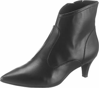 Tamaris High-Heel-Stiefelette, im femininen Look, rot, EURO-Größen, dunkelrot+rot