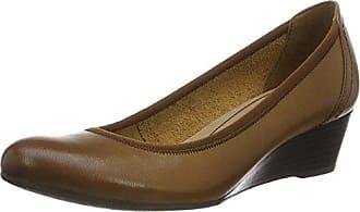 22320, Zapatos de Tacón para Mujer, Marrón (Antelope Suede), 41 EU Tamaris