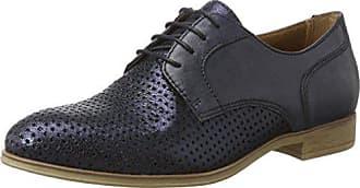 s.Oliver 23659, Zapatos de Cordones Oxford Para Mujer, Azul (Navy), 41 EU