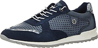 Tamaris - Low-top Donna , Blu (Blau (Navy Comb)), 37 EU