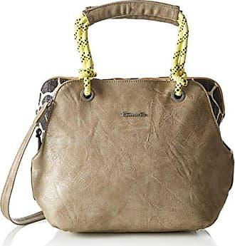 Damen Delfina Handbag Handgelenkstasche, Beige (Sand Comb), One Size Tamaris