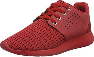 333, Sneakers Basses Mixte Adulte - Rot (Red 02) 43 EUTamboga
