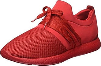 1046, Baskets Basses Mixte Adulte, Rouge (Red 02), 40 EUTamboga
