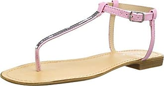 Tantra Sandals with Buckle - Sandalias para Mujer, Color Rosa, Talla 37 Tantra
