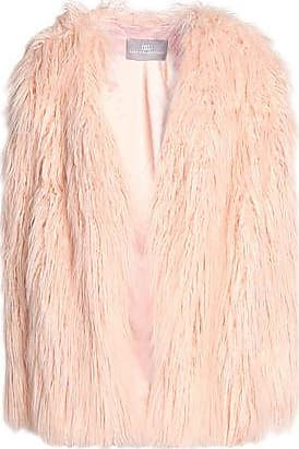 Tart Collections Woman Faux Fur Coat Multicolor Size XS Tart Collections