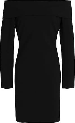 Tart Collections Woman Off-the-shoulder Stretch-knit Mini Dress Black Size S Tart Collections