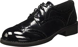 17w102-1 - Zapatos de Cordones de Material Sintético para Mujer Negro Size: 41 Tata Italia