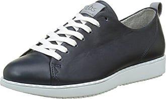 TBS Oliviah S7, Zapatos de Cordones Derby para Mujer, Azul (Marine), 39 EU