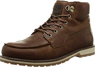TBS TechnisyntheseBeretta - Zapatos de Cordones Hombre, Marrón (Marron (Mustang)), 43