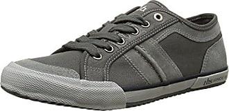 TBS VIOLAY-V7122 - Zapatos de Cordones de Lona Mujer, Gris (Gris (Chambray)), 37