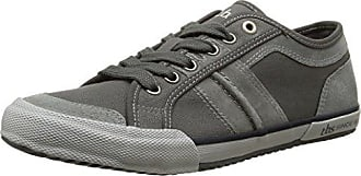 TBS VIOLAY-V7122 - Zapatos de Cordones de Lona Mujer, Gris (Gris (Chambray)), 38 EU