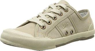 TBS - Zapatos de Cordones de Lona Mujer, Azul (Azul (Navy)), 36 EU