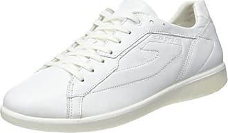 TBS Olanno S7, Zapatos de Cordones Derby para Mujer, Blanco (Blanc), 36 EU