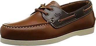 Phenis-A8, Chaussures Bateau Homme, Marron (Cuir + Marron), 39 EUTBS
