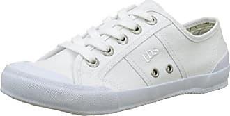 TBS Polshoe, Zapatos de Cordones Oxford para Hombre, Blanco (Blanc 007), 41 EU