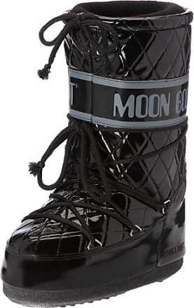 Vinil, Stivali, Unisex- adulto, (Bianco/Nero 001), 31/34 Moon Boot