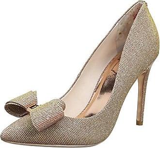 Neevo 3 - Zapatos Punta Cerrada para Mujer, Color Multicolor (Fuchsia - Print), Talla 39 EU (6 UK) Ted Baker