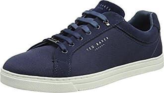 Ted Baker Kiing, Zapatillas de Estar por Casa para Hombre, Azul (Dark Blue), 44 EU
