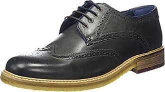 Ted Baker Prycce, Zapatos de Cordones Oxford para Hombre, Azul (Dark Blue), 44 EU