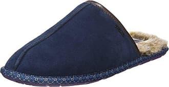 Fischer Dora, Zapatillas de Estar por Casa para Mujer, Azul (Blau 555), 37 EU