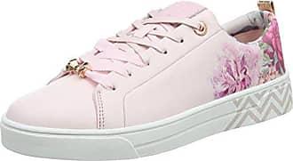 Ted Baker Kulei, Sneakers Basses Femme, Blanc (White/Rose Gold), 37 EU