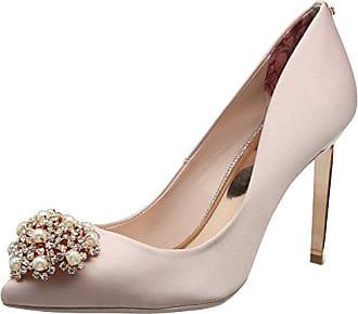 Peetch 2, Zapatos de Tacón con Punta Cerrada para Mujer, Blanco (Ivory Ffffff), 40 EU Ted Baker