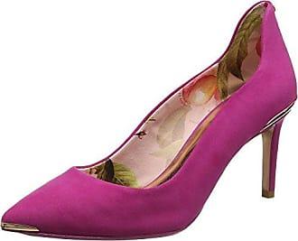 Carnival Summer Pumps, Zapatos de Tacón con Punta Cerrada para Mujer, Rosa (Pink Multi a), 37 EU Joe Browns