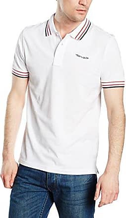 Melange Tee with Print, T-Shirt Homme, Blanc (White 2000), XX-LargeTom Tailor Denim