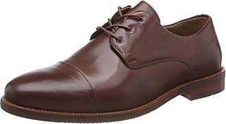 Ten Points Danny, Zapatos de Cordones Derby para Hombre, Marrón (Brown 301), 45 EU