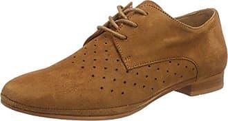 Eden Maylis - Zapatos de Cordones para Mujer Marrón Marrón (Cognac) 37 SUEEG36